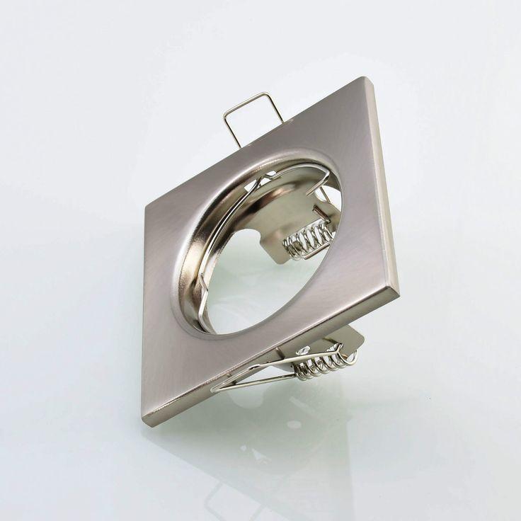 Superb Details zu Einbaustrahler Einbauspot Spot Einbaurahmen Strahler Lampe Edelstahl