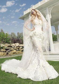 Свадебные платье от versace