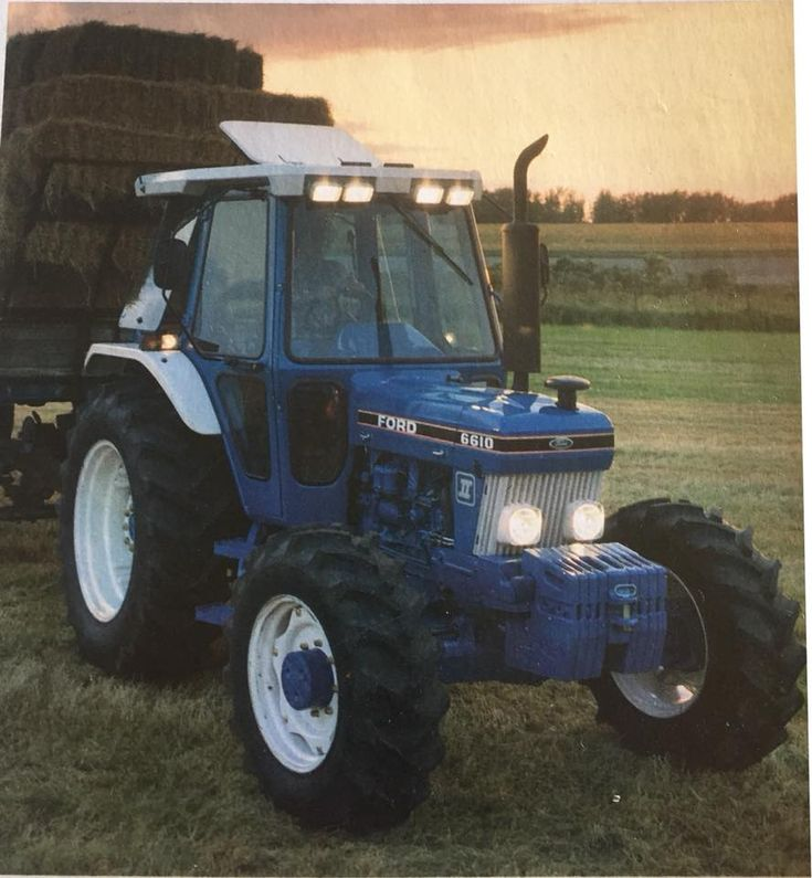 Ford 7810 Vintage Tractors Classic Tractor Tractors