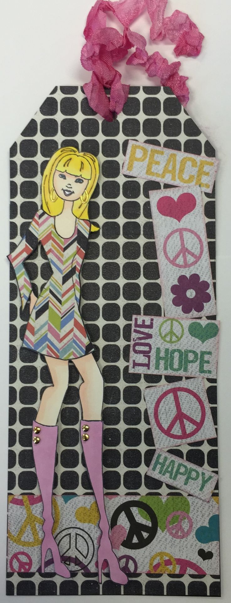 """Tag was made using the """"Jill"""" Prima Doll. Stamp can found at ascrapnplace.com"""