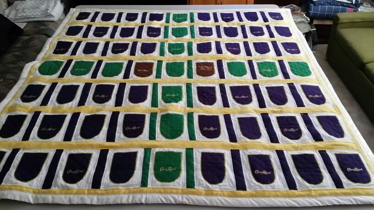 Crown Royal Quilt front