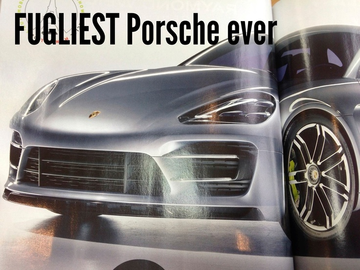 Hard to believe that Porsche have made the Panamera even fatter, uglier and more expensive. A fat motor for fat cats with zero taste