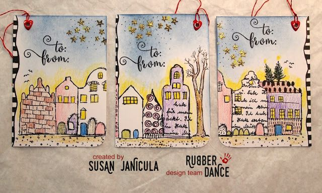 Gift tags that are a gift in themselves. Love! ♥