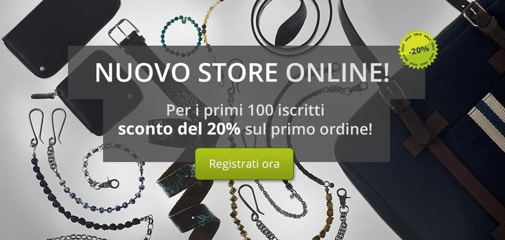 :::: Andrea D'Amico :::: Nuovo Store ONLINE! Per i primi 100 iscritti, sconto del 20% sul primo ordine! ::::
