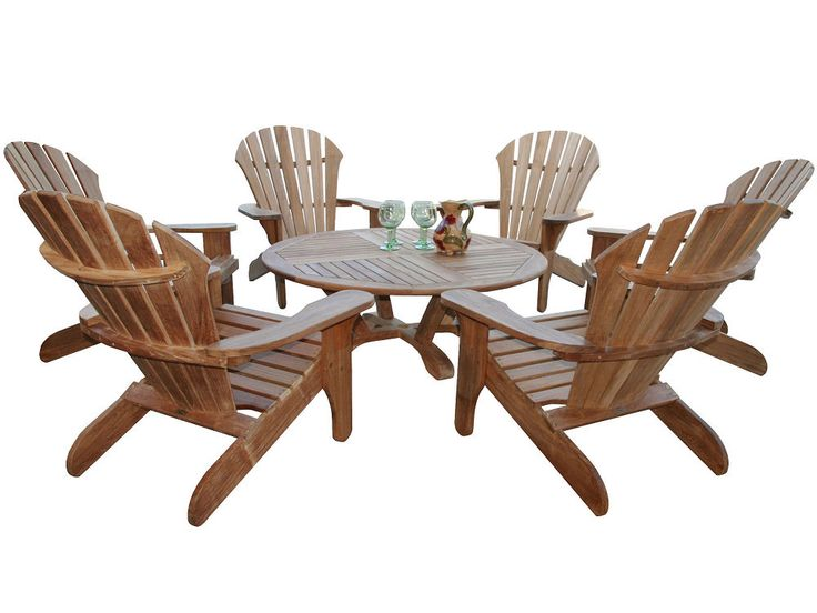 11 best Douglas Nance Teak Adirondack Chairs images on Pinterest