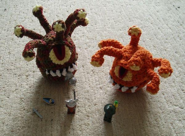 Amigurumi Monster Pattern Free Crochet : Best crochet aliens monsters robots zombies images on