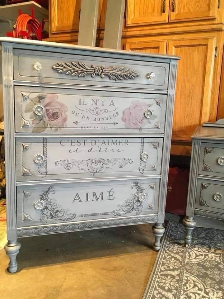 Shabby Chic Furniture Diy Decoupage Market Home Online