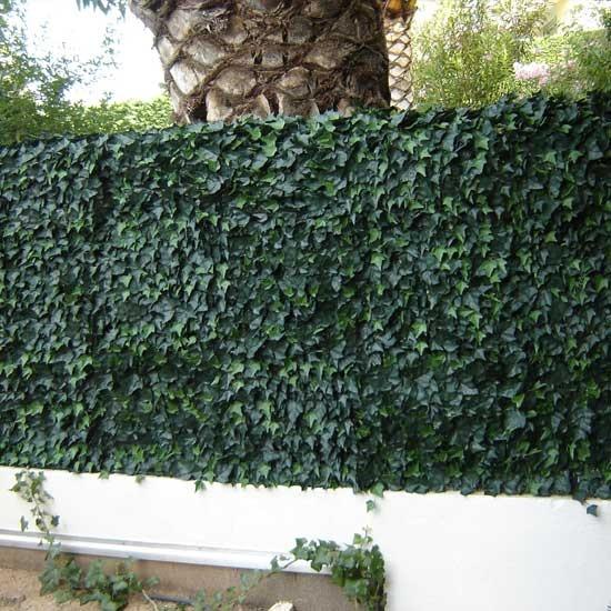 Haie de lierre clipsable PVC CARTON 3 M2 vert : en vente chez mes-meubles-jardin.fr