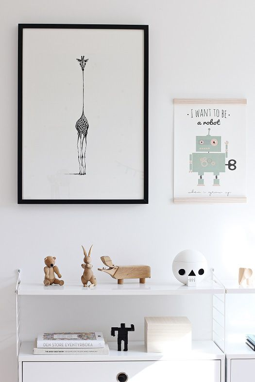 A Modern, Stylish Baby Boy's Nursery
