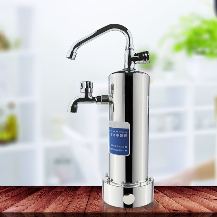 Pic On  F F aliexpress Fitem FHot selling high quality factory price double water tap water filter for Kitchen water treatment F html