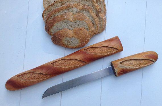 Couteau à pain / Bread knife by Cuzin par LaMachineaBrocantes
