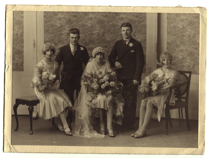 "Marriage of Frances Hannah Paxton and  John ""Jack"" Warner - 26th Dec 1929 - Richmond, Yorkshire"