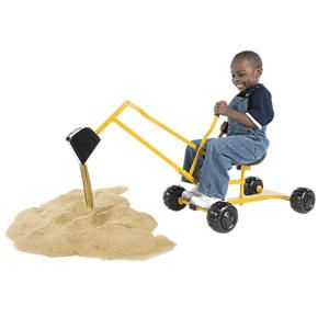 Sand Digger Scoop 'n Swivel Backhoe Sand Toy from One Step Ahead | 2I30547