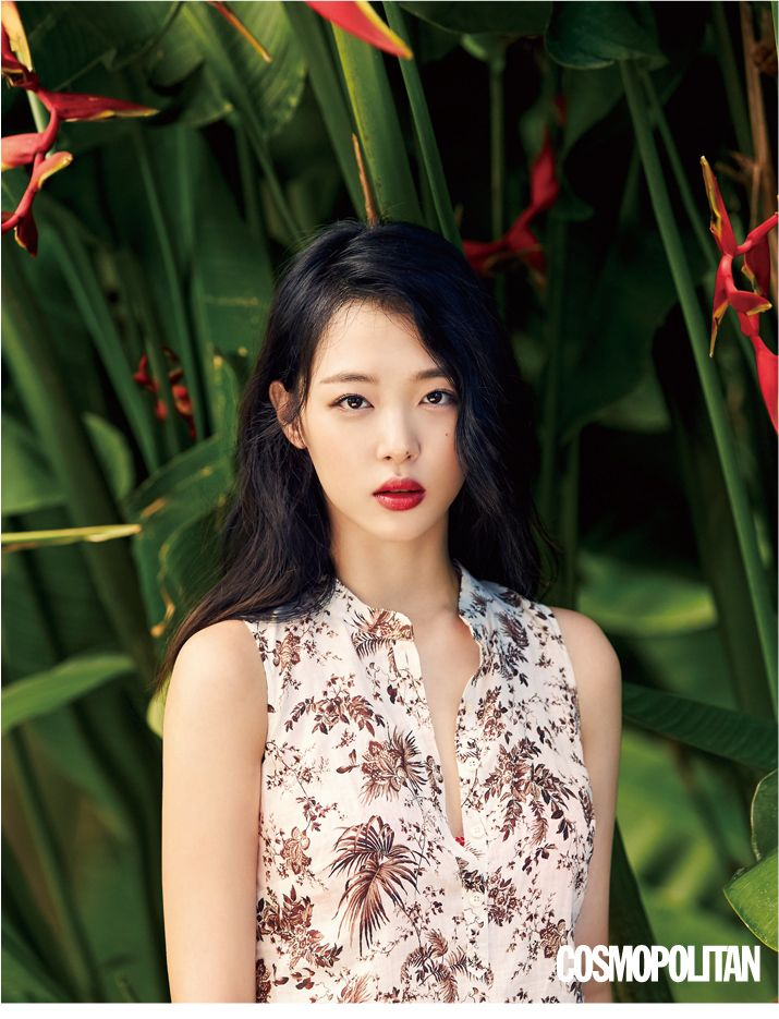 f(x) Sulli - Cosmopolitan Magazine June Issue '15