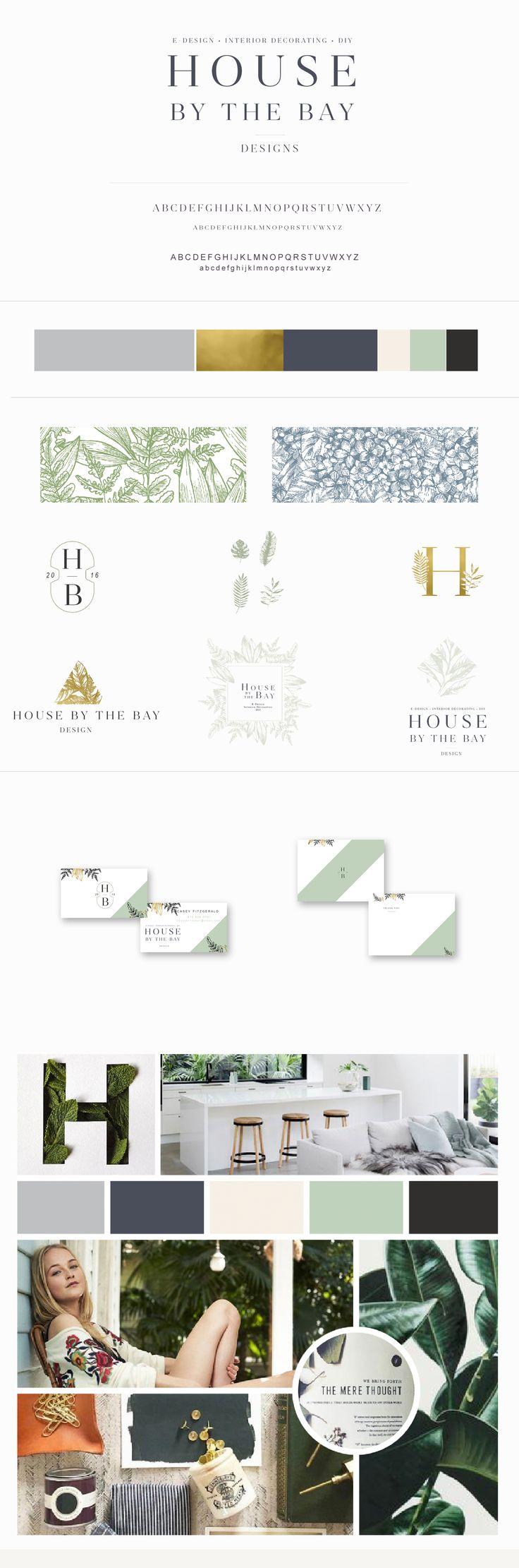 House by the Bay Brand Design by Harper Maven Design \\ www.harpermavendesign.com