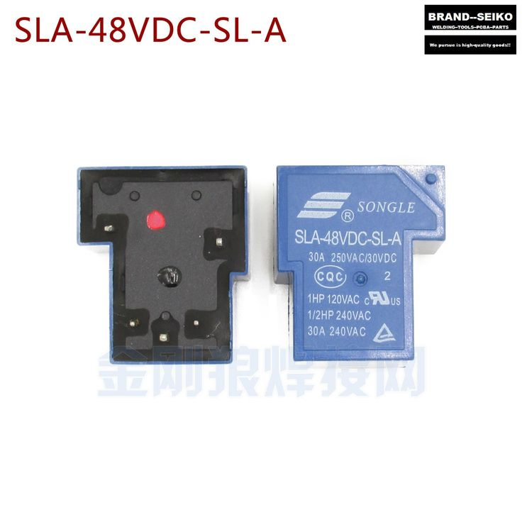 19.99$  Buy here - http://alig2o.shopchina.info/go.php?t=32612954288 - 4PCS/LOT SLA - 48 VDC - SL - A 30 A relay is A set of switch inverter welding machine repair parts 5 feet  #bestbuy