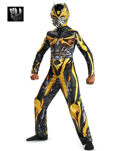 Disguise Hasbro Transformers Age of Extinction Movie Bumblebee Classic Boys Costume - http://renastip.blogspot.com/2015/08/disguise-hasbro-transformers-age-of_6.html
