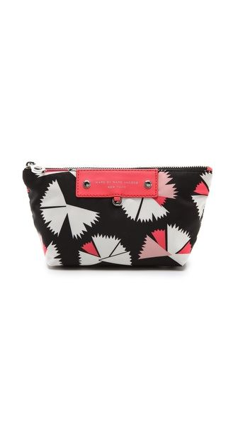 Marc by Marc Jacobs PREPPY NYLON PINWHEEL PERFECT POUCH