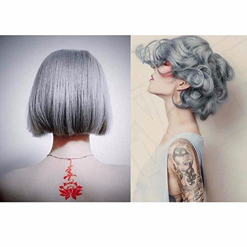 Hair Dyes, LuckyFine - Hair Wax Hair Cream Hair Toning Poly Tint Wash Hair Dyeing Silver Gray Hair Wax 100ml >>> You can get more details by clicking on the image. #hairsandstyles