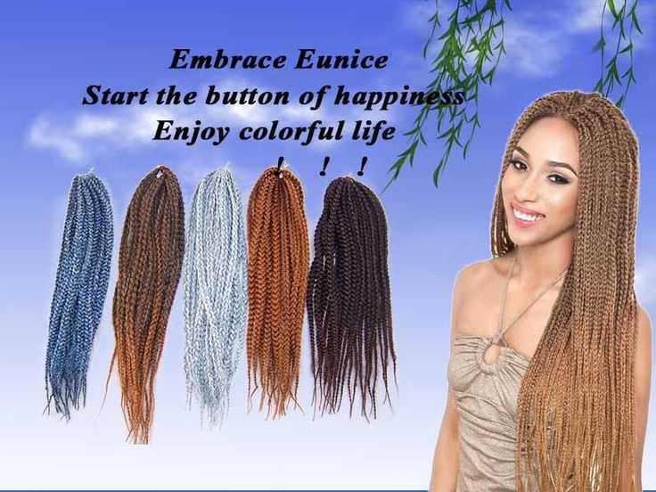 Aliexpress.com : Buy Best selling 5pcs/pack 18'' box braiding hair 100% kanekalon fiber crochet hair extensions from Reliable hair extension wholesalers china suppliers on Eunice synthetic braiding hair