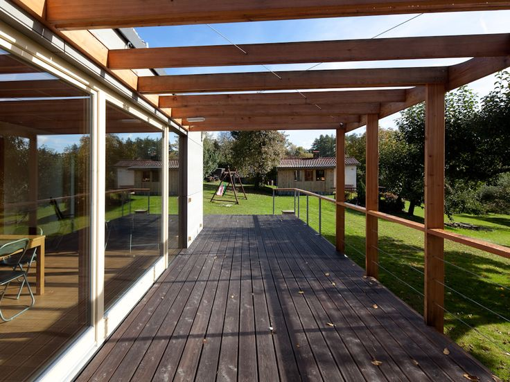 Contemporary Pergola Wood Improvement Project
