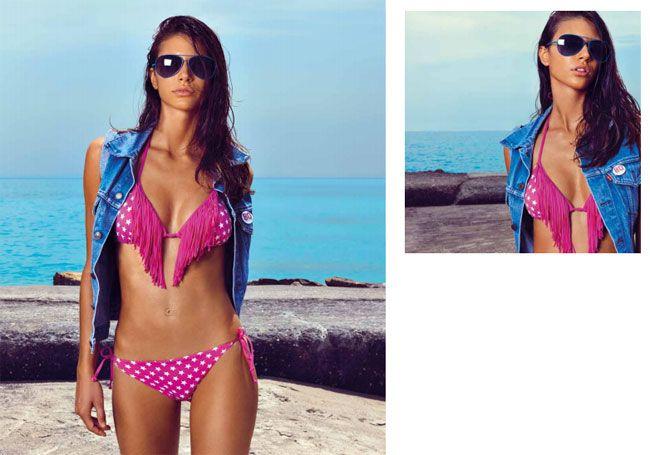 Bikini Triangolo Con Frange 2017 Costumi Verdissima