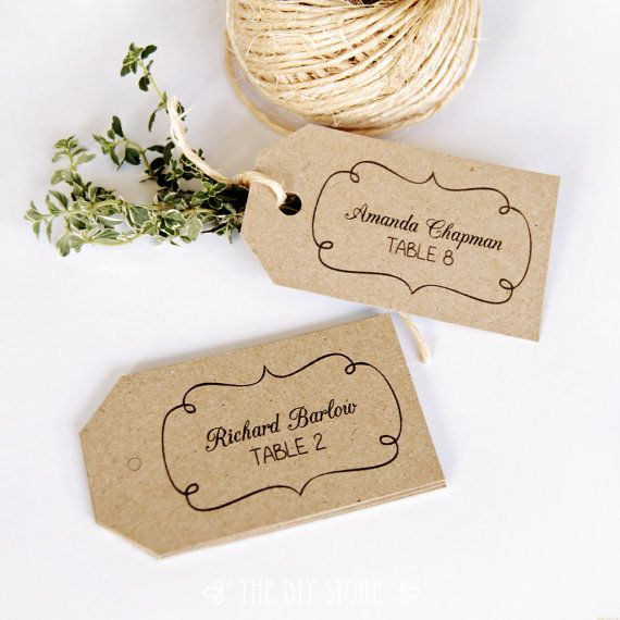 Best 10+ Print your own wedding place cards ideas on Pinterest ...