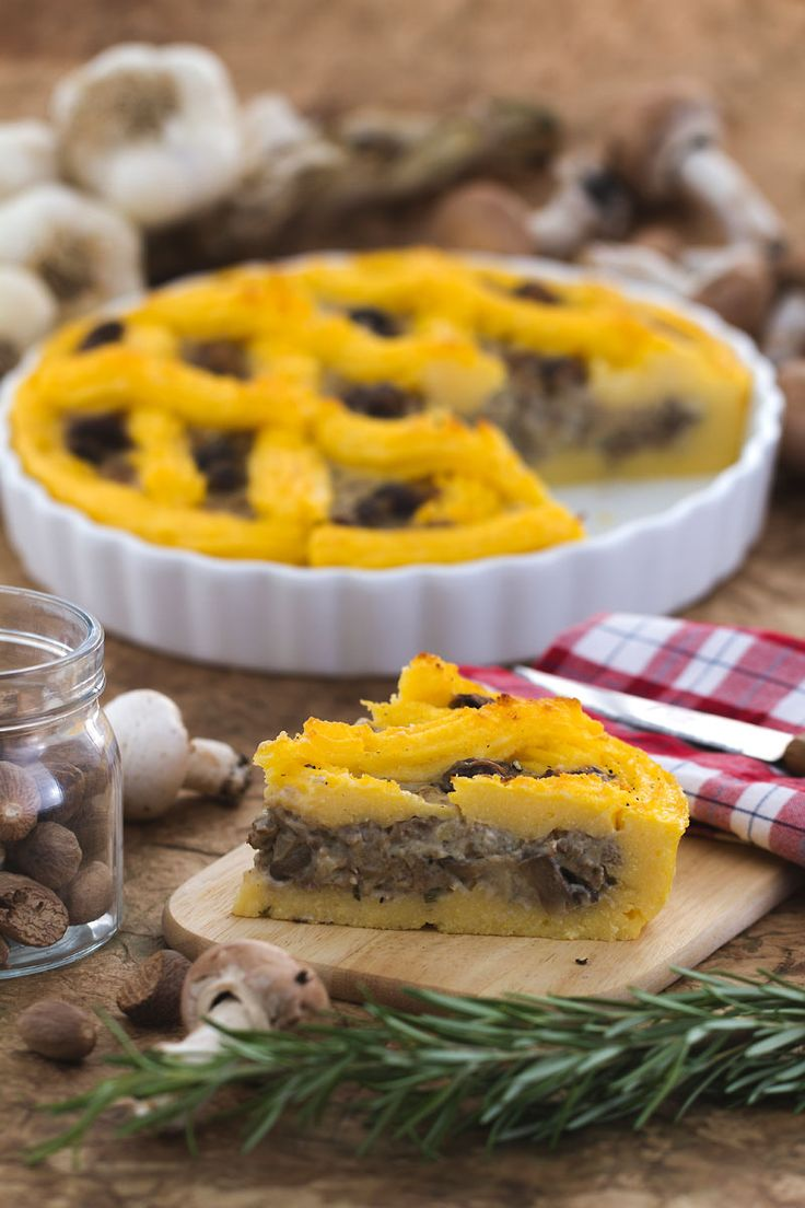 Abbiamo trasformato la #polenta in una gustosa #torta salata. Provare per…
