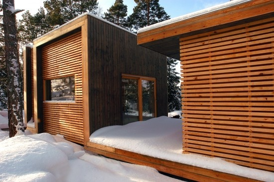 Aaland Summerhouse by Saunders Architecture - I Like Architecture