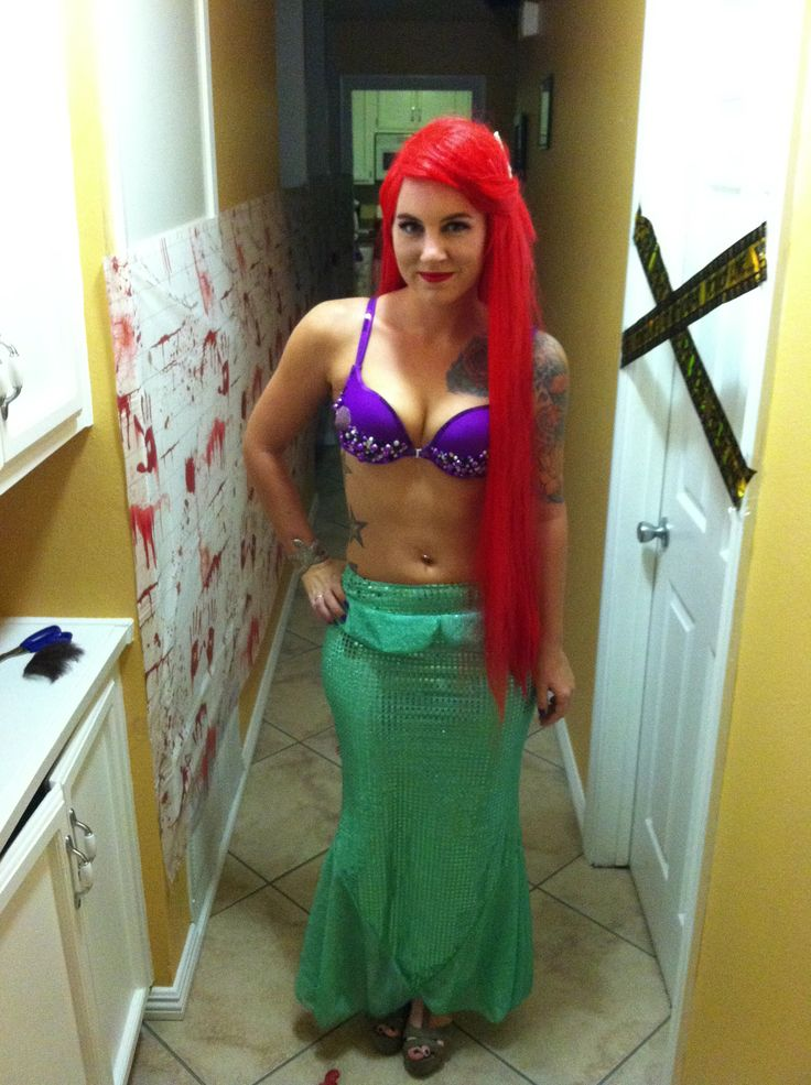 My Ariel Halloween Costume Diy Top Just Do It Yourself