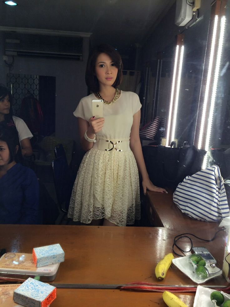 Today outfit .. My new dress ..horeee.. Andrea dian