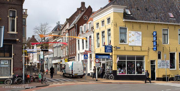 Steentilstraat. Groningen. The Netherlands.