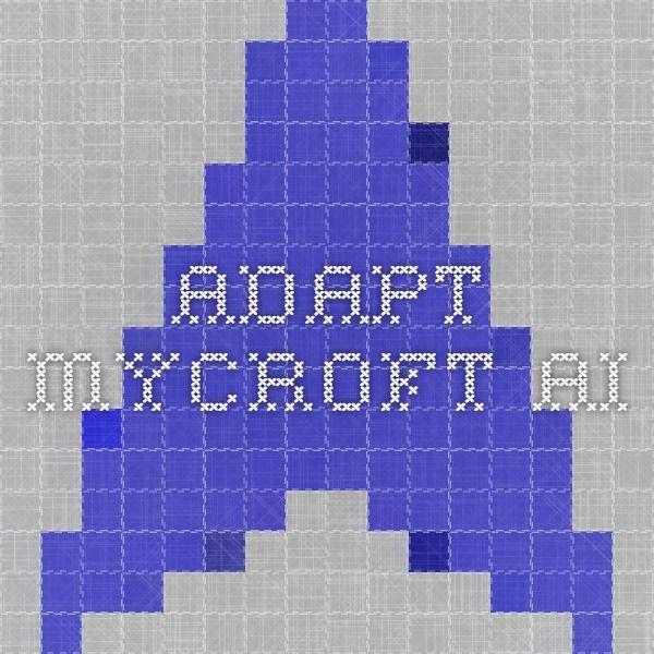 adapt.mycroft.ai