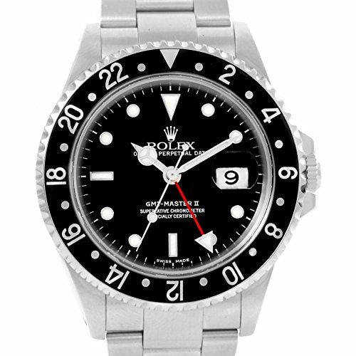 Rolex GMT-Master automatic-self-wind mens Watch 16710 (Certified Pre-owned) ** Click on the image for additional details.