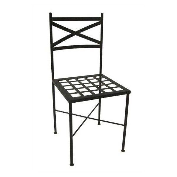 Silla de forja Fes - sillas para salón