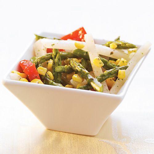 Asparagus, Jicama, Red Pepper, & Corn Salad - Wegmans