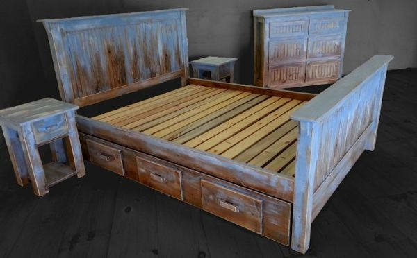 Distressed Cottage Bedroom Furniture | Jiao Jiao & Jiacheng's Room