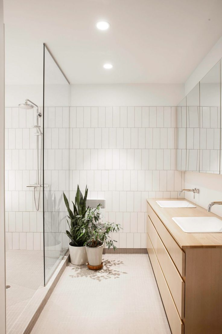 Ceramic bathroom tile acquerelli shower fixtures for sale too - Appareil Architecture Transforms Two Flats Into House With Sunken Lounge