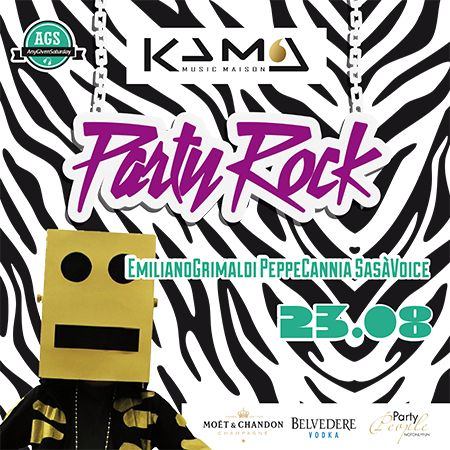 party rock - flyer