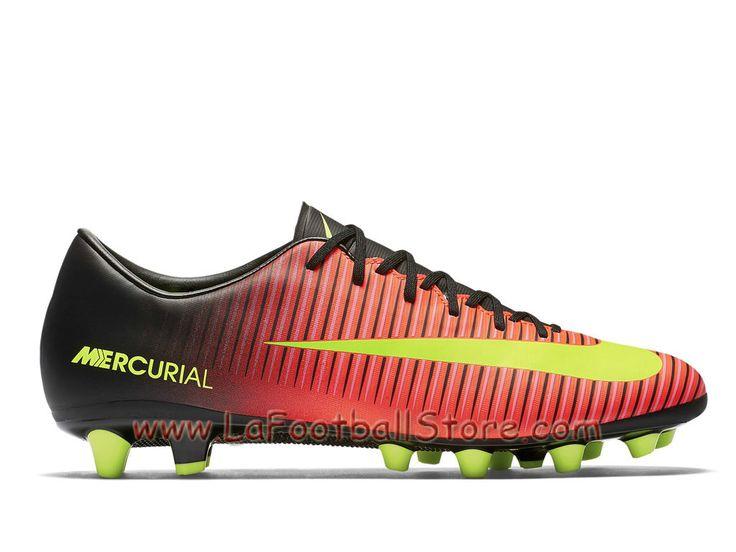 Nike Mercurial Victory VI AG-PRO Chaussure de football à crampons pour terrain synthétique pour Homme Volt