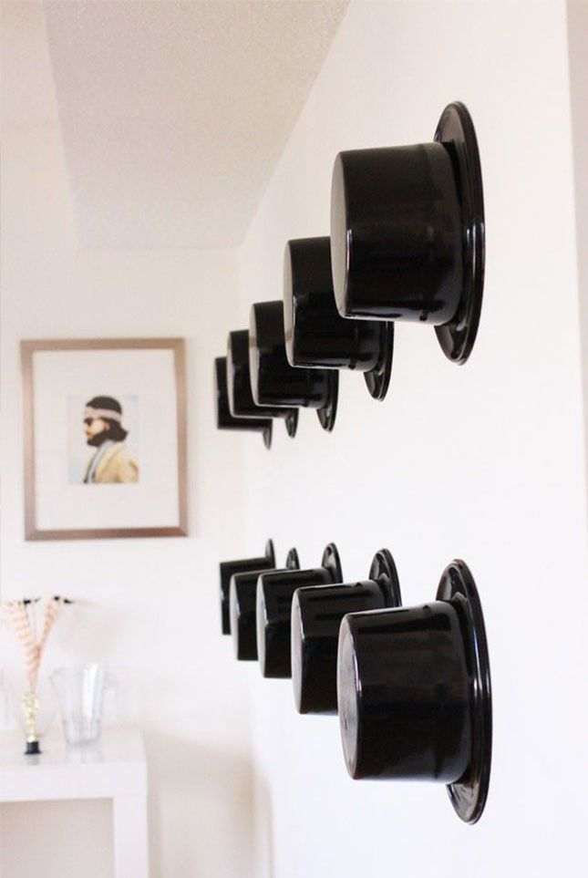 Swap out your gallery wall for a top hat wall during awards season.