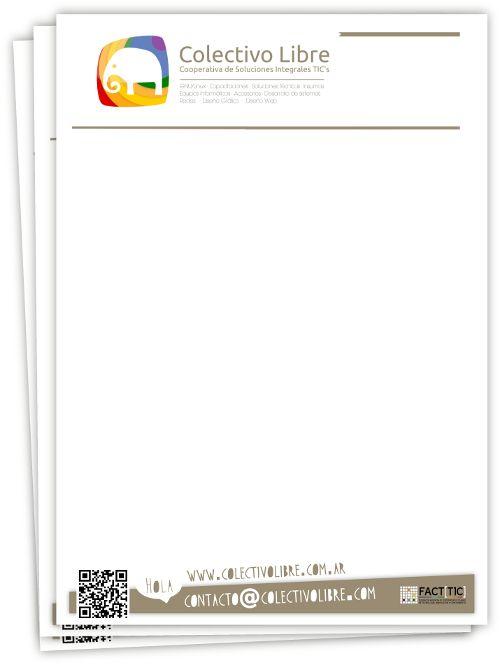 Diseño e impresión de plantillas de presupuesto.