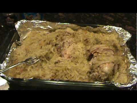how to cook a pheasant  in sour kraut  the easy way - simple and delicious - YouTube