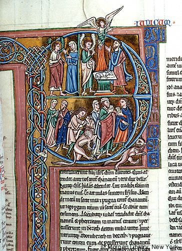 Bible, MS M.791 fol. 66r - Images from Medieval and Renaissance Manuscripts - The Morgan Library & Museum