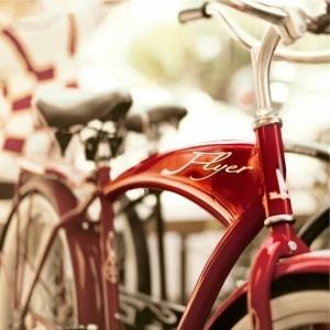 Red Radio Flyer Bike