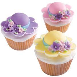 Bonnet Season Cupcakes how to
