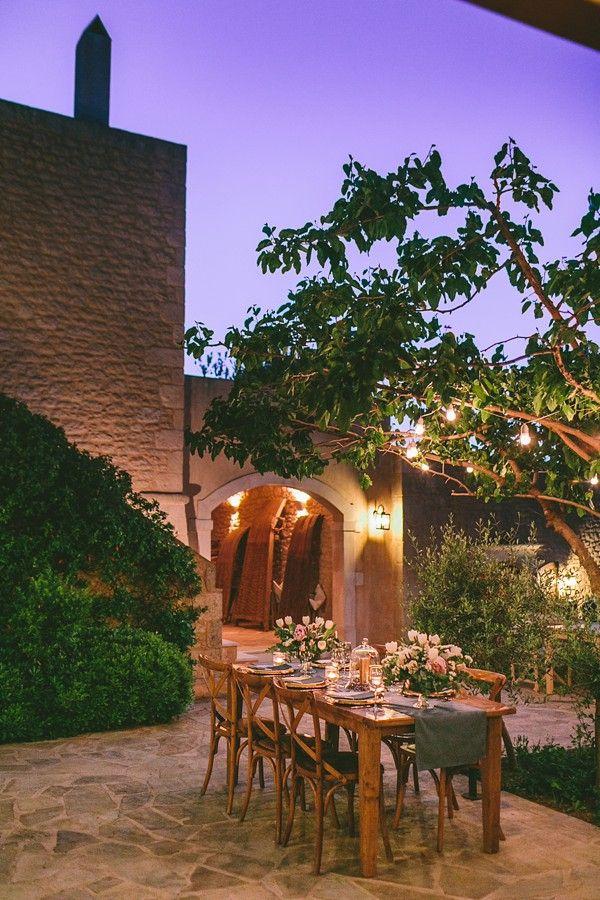Lavender Filled Crete Destination Wedding