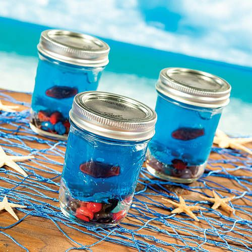 Our DIY Mini Jello Aquariums will make a create and fun favor for your event.