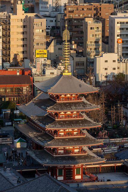 Sensoji Temple,Tokyo, Japan