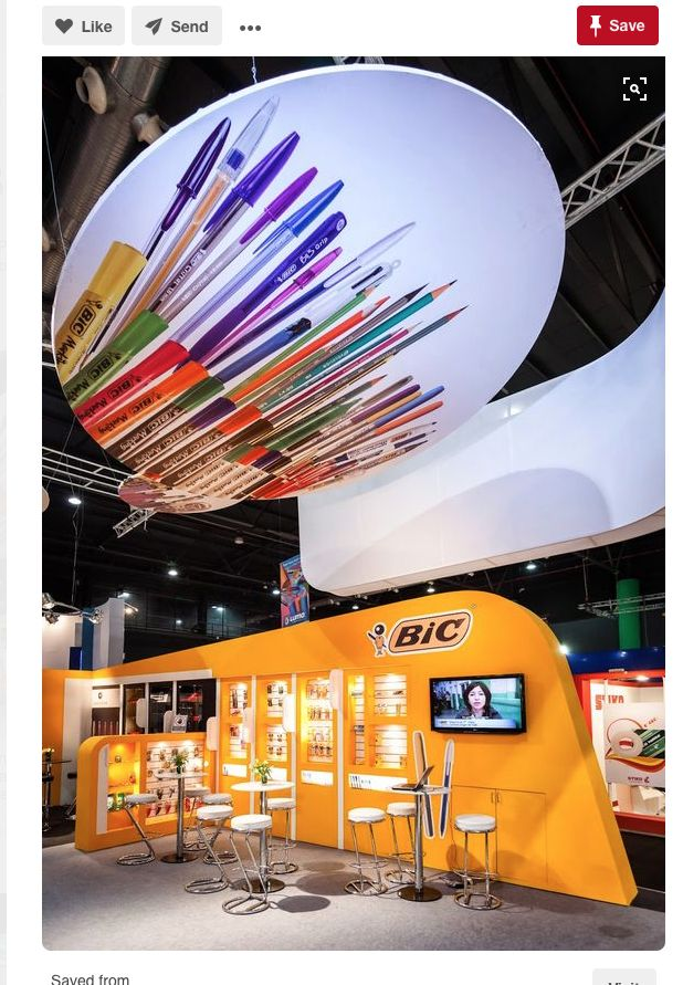 Creative Exhibition Booths For Trade Shows